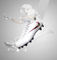 """""""Rose cleats""""  (Design Only)"""
